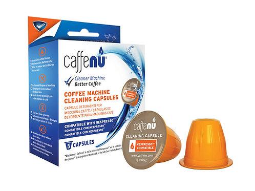 Nespresso® CaffeNU Maschinenreiniger Kapseln (5 Stück)