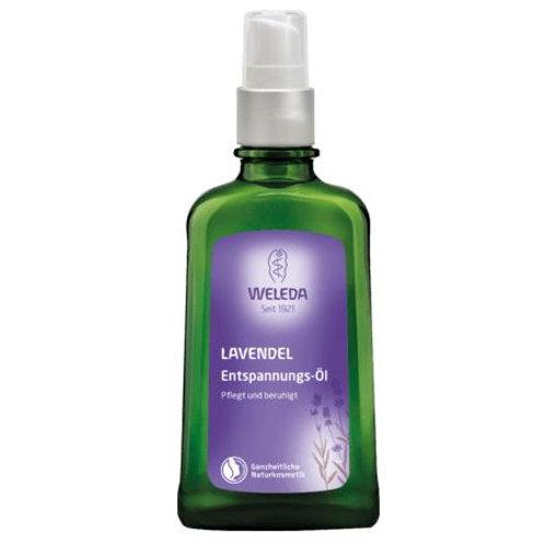 Weleda Körperöl Lavendel-Entspannungs-Öl, 100 ml