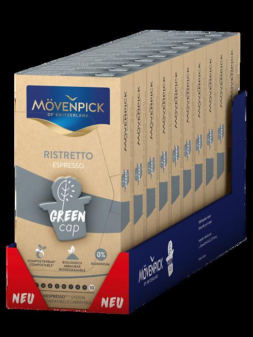 Nespresso® kompatible Kompostierbare KaffeeKapsel Mövenpick Ristretto