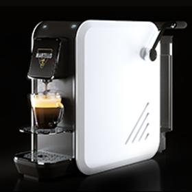 Kaffeemaschine System *MARTELLO* Modell SMART WEISS