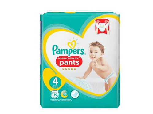 Pampers Premium Protection PANTS 4 Maxi 19 Stk.