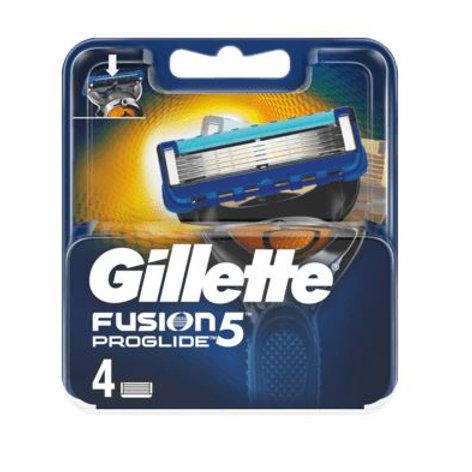 Gillette Fusion ProGlide Manual Rasierklingen, 4 St