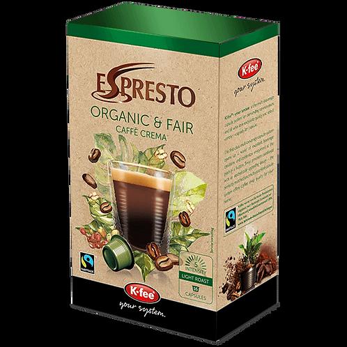 K-Fee Kaffeekapseln ESPRESTO Organic & Fair