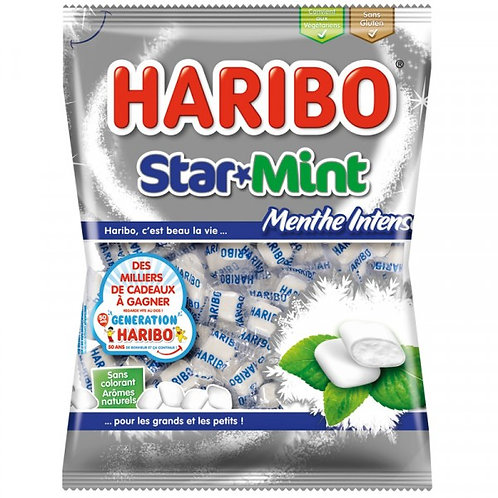Haribo STAR MINT Menthe Intense