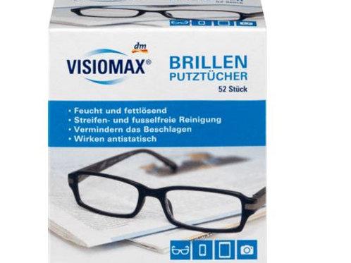 VISIOMAX Brillenputztücher, 52 St
