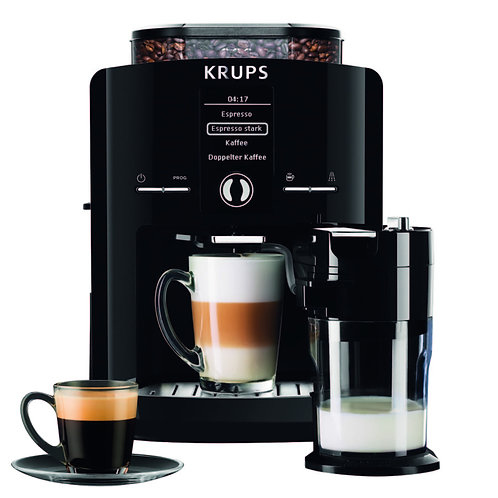 Krups Kaffee-Vollautomat One Touch Cappuchino Latt'Espress EA8298