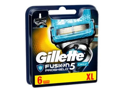 Gillette Gillette ProShield Chill Klingen, 6 St XL Pack