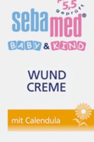 sebamed Wundschutzcreme Baby & Kind Calendula, 75 ml