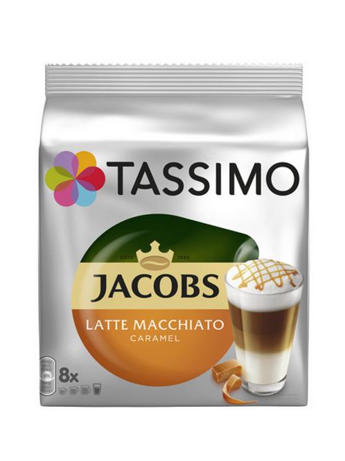 Jacobs Latte Macchiato Caramel  System TASSIMO