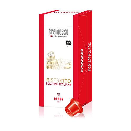 DELIZIO® kompatible Kapsel CREMESSO Edizione Italiana Ristretto 16 Kapseln 96 g