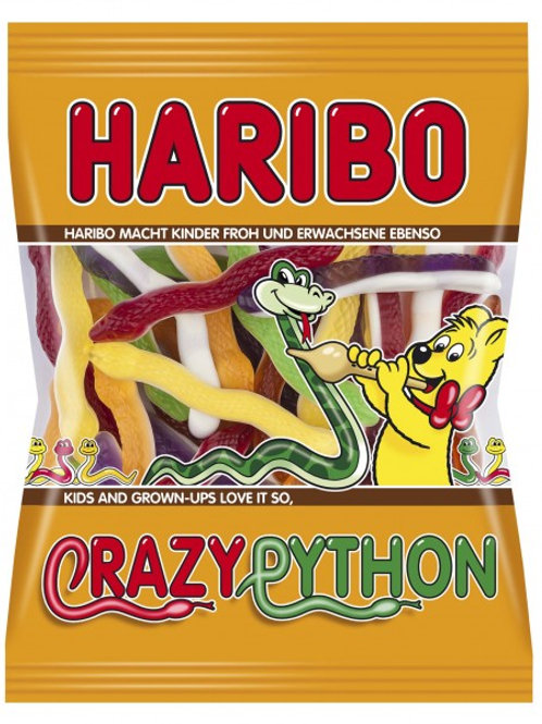 Haribo CRAZY PYTHON, Beutel 175gramm