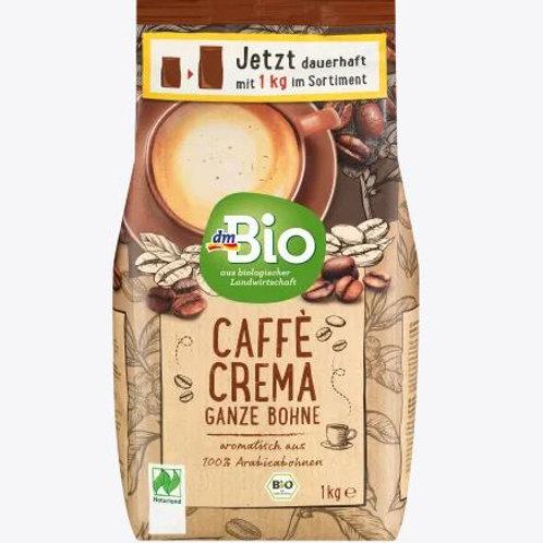 dmBio Kaffee, Caffè Crema, ganze Bohne, Naturland, 1 kg