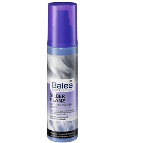 Balea Professional Anti-Gelbstich Spray Silberglanz, 150 ml