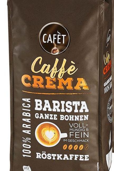 Ganze Kaffeebohnen Cafet 1 KG Cafe Crema Barista