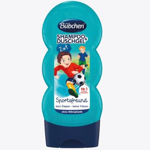 Bübchen Kids Shampoo & Duschgel Sportsfreund, 230 ml