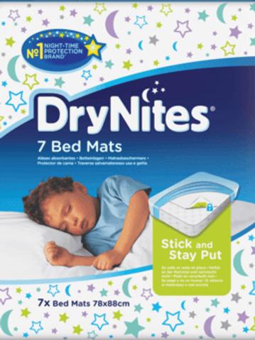 DryNites Bed Mats 78 x 88cm