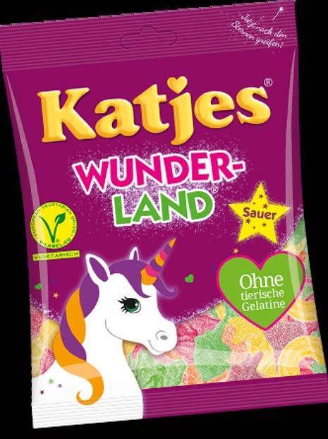 Katjes Wunderland Sauer, Beutel 200 gramm