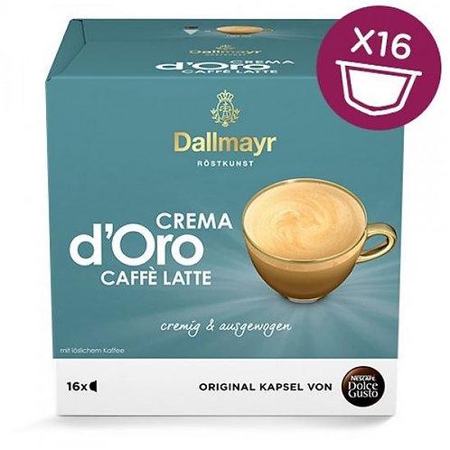 Dolce Gusto Kapsel von Nescafé Dallmayr Crema d Oro Cafè Latte