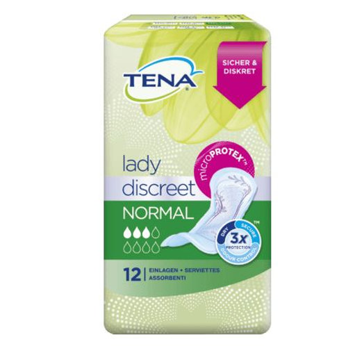 TENA Lady Discreet Normal, 12 St