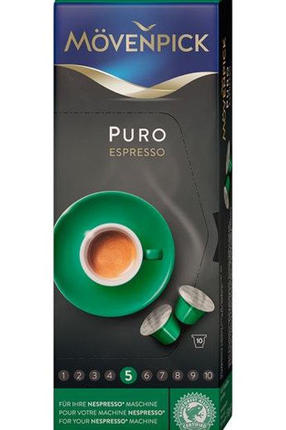Nespresso® Kompatible Kapsel von Mövenpick PURO ESPRESSO