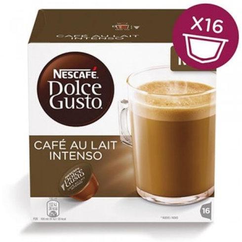 Dolce Gusto Kapsel von Nescafé CAFÉ AU LAIT Intenso