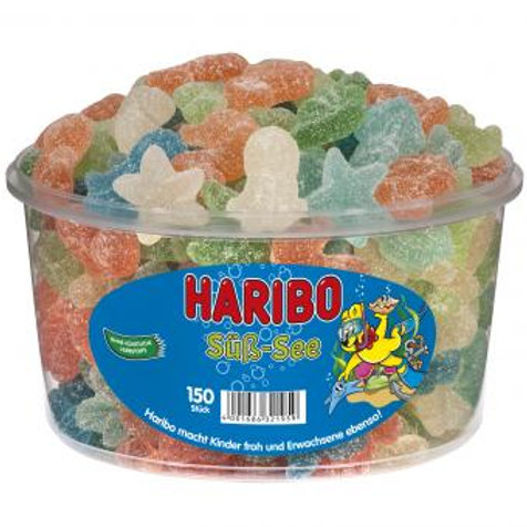 Haribo Süss-See, Dose 150 Stk