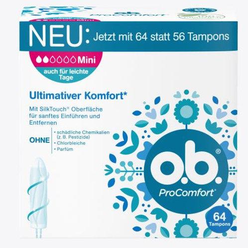 o.b. Tampons ProComfort Mini, 64 St
