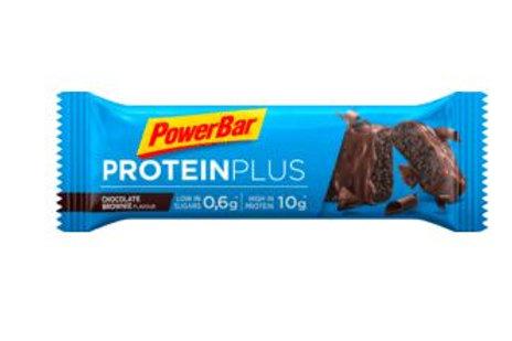 PowerBar Protein-Riegel, Protein Plus chocolate brownie mit Milch-Schokolade