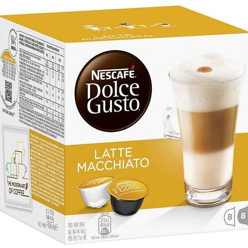 Dolce Gusto Kapsel von Nescafé LATTE MACCHIATO