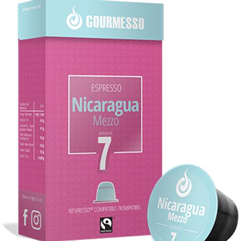 Nespresso® Kompatible Kapsel GOURMESSO ESPRESSO NICARAGUA MEZZO Kaffeekapseln