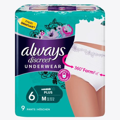 always Discreet Pants Large (L) Blasenschwäche, 8 St