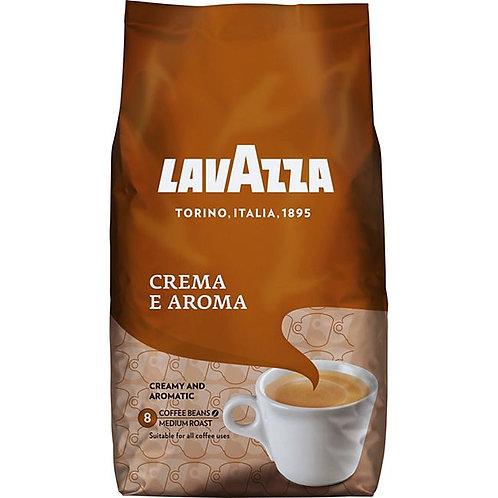 Ganze Kaffeebohnen LAVAZZA 1 KG Cafe Crema E AROMA