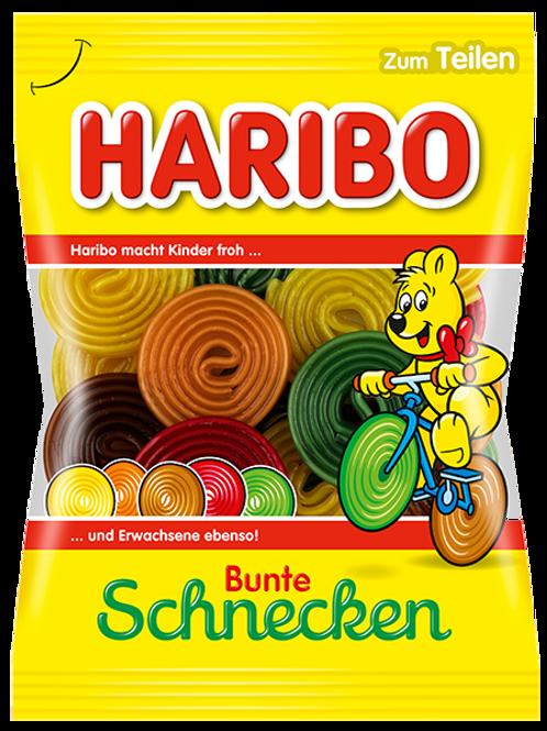 Haribo Bunte Schnecken, Beutel 175 gramm