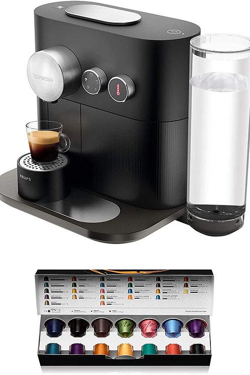 Krups Nespresso Expert XN6008 Black Espressomaschine, Nespresso Kapseln,