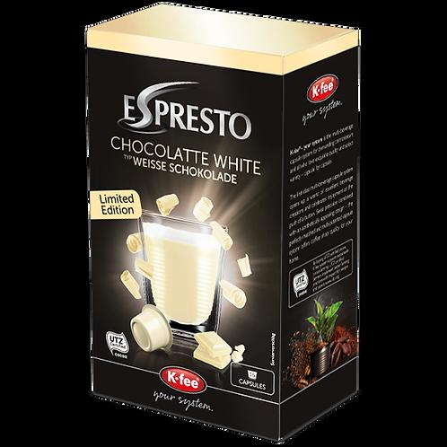 K-Fee Kaffeekapseln ESPRESTO Weisse Schokolade Limited Edition