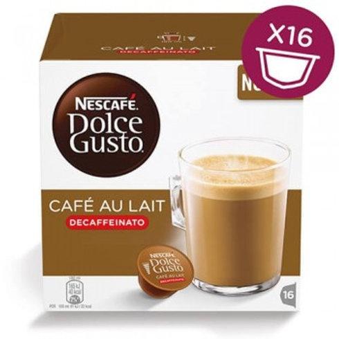 Dolce Gusto Kapsel von Nescafé CAFÉ AU LAIT Decaffeinato