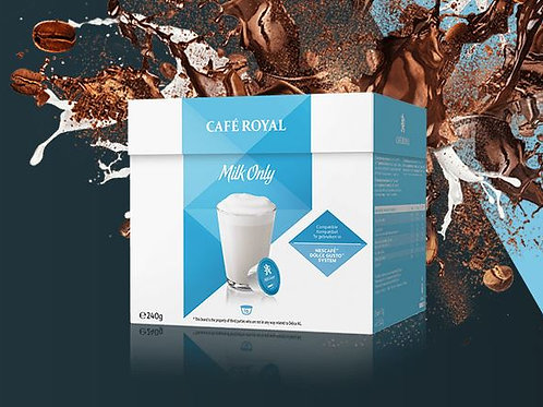 Dolce Gusto kompatible Kapsel von Café Royal Milk Only