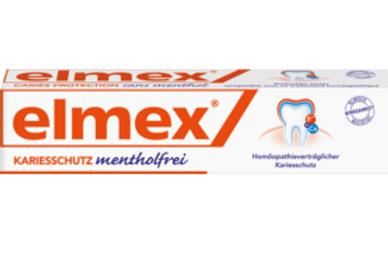 Elmex Zahnpasta mentholfrei, 75 ml