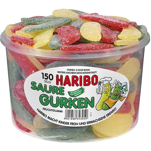 HARIBO Saure Gurken 150er Dose