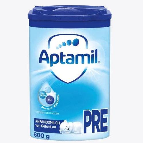 Aptamil Anfangsmilch Pronutra PRE von Geburt an 800g