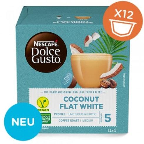 Dolce Gusto Kapsel von Nescafé Coconut Flat White 12 Kapseln