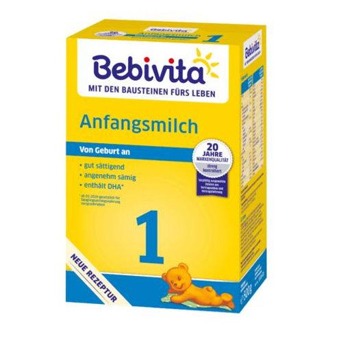 Bebivita Anfangsmilch 1 von Geburt an, 0,5 kg