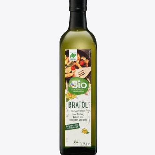 dmBio Pflanzenöl, Bratöl, hoch erhitzbar, 750 ml