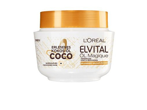 L'Oreal Elvital Haarkur Öl Magique Coco, 270 ml