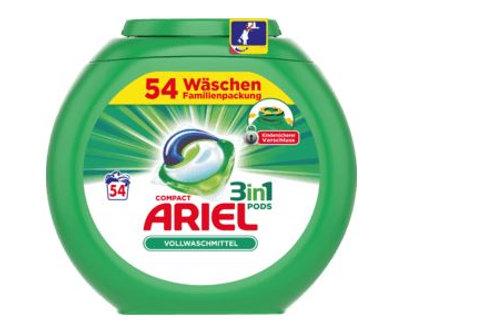 Ariel Vollwaschmittel 3in1 PODS, 54 Wl