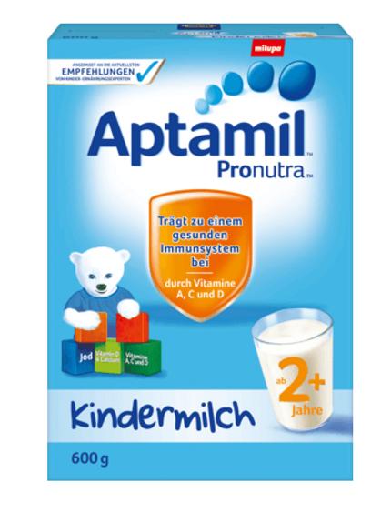 Aptamil Pronutra Kindermilch ab 2 Jahren, 0,6 kg