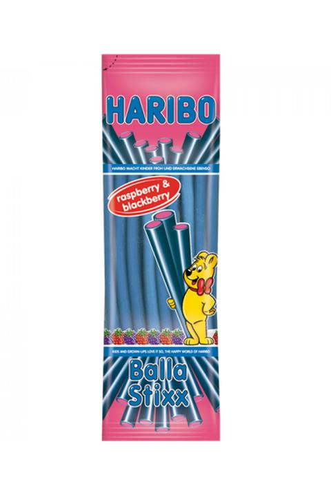 Haribo Balla Stixx Raspberry & Blackberry im 200 gramm Beutel