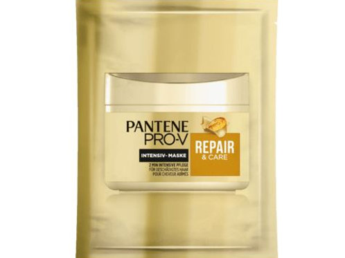PANTENE PRO-V Haarkur Intensiv-Maske 2 Min Kur Repair&Care Sachet, 25 ml