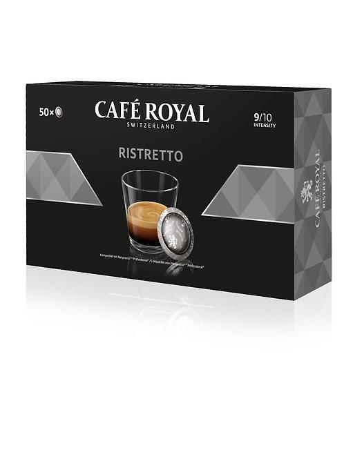 Nespresso®professional kompatible Pads von Café Royal Ristretto (50 Pads)