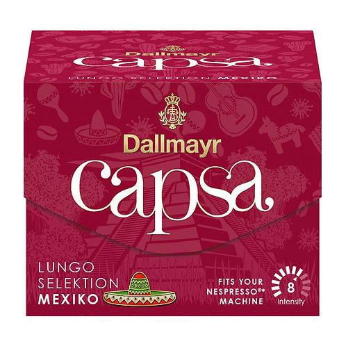 Nespresso® kompatible Kapsel Capsa von Dallmayr Lungo Selektion Mexiko